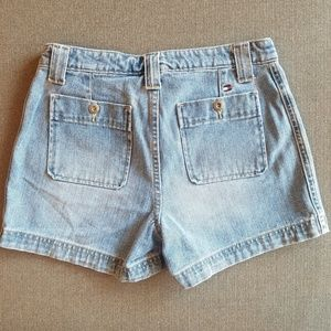 Pants - Vintage Tommy Medium Wash high waisted shorts